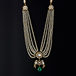 PEARL, DIAMOND AND EMERALD NECKLACE - Fine Jewels: Ode to Nature