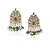 PAIR OF GEMSET EARRINGS -    - Fine Jewels: Ode to Nature