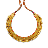GOLD GEJJETIC KANTASARA OR NECKLACE -    - Fine Jewels: Ode to Nature