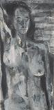 Grey Nude - Akbar  Padamsee - Spring Live Auction