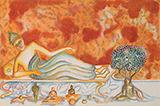 Buddha in Thailand - Bhupen  Khakhar - Spring Live Auction