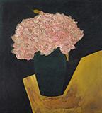 Black Flower Vase - N S Bendre - Spring Live Auction