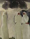 Shrouded Woman - B C Sanyal - Spring Online Auction