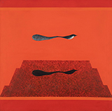 Untitled (Bird Mountain Tree series) - Jagdish  Swaminathan - Spring Online Auction