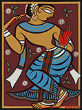 Untitled - Jamini  Roy - Spring Online Auction