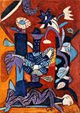 Untitled - K G Subramanyan - Spring Online Auction