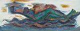 Boat Passenger - Laxman  Pai - Spring Online Auction