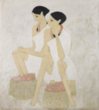 Untitled - N S Bendre - Spring Online Auction