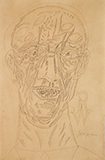 Portrait of Robert Wraight - F N Souza - Spring Online Auction