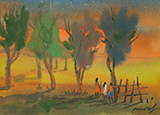 Untitled - Gopal  Ghose - Spring Online Auction
