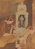 Conversion of Greek Heliodoros to the Hindu religion of Vaishnavism - Asit Kumar Haldar - Evening Sale | New Delhi, Live