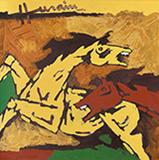 Untitled - M F Husain - Evening Sale | New Delhi, Live