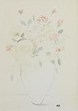 Untitled (Roses) - K H Ara - Summer Online Auction