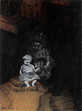 Untitled (Doll) - Bikash  Bhattacharjee - Summer Online Auction