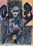 Untitled - K G Subramanyan - Summer Online Auction