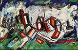 Green Landscape - Lancelot  Ribeiro - Summer Online Auction