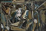 Gestuel - S H Raza - Summer Online Auction