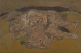 Reclining Figure with Bull's Head - Tyeb  Mehta - Summer Online Auction