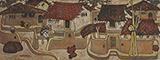 Untitled - A A Almelkar - Winter Online Auction
