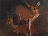 Untitled (Deer) - Govind Madhav  Solegaonkar - Winter Online Auction