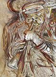 Ustad Sahib on his Clarinet - Krishen  Khanna - Winter Online Auction