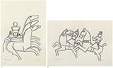 - M F Husain - Winter Online Auction