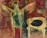 Untitled - Ganesh  Pyne - Spring LIVE Auction | Mumbai, Live
