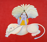 Untitled - Manjit  Bawa - Spring LIVE Auction | Mumbai, Live