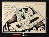 Untitled - M F Husain - WORKS ON PAPER