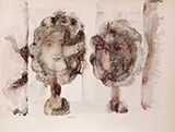 Untitled - Sakti  Burman - WORKS ON PAPER