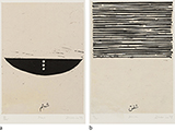 - Zarina  Hashmi - WORKS ON PAPER