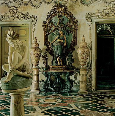 Interior, Marble Palace, Calcutta