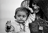 Nemai  Ghosh-Affectionate Mother with Child