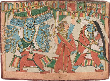 Ramayana Illustration