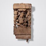 -Krishna with his Consorts
