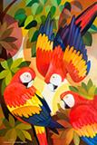 Senaka  Senanayake-Scarlet Macaws