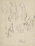 F N Souza-Untitled (Hands)