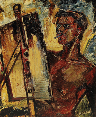Portrait of Souza