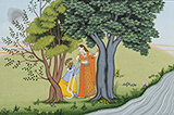 Mukesh Kumar Dhiman-Folio from the Gita Govinda