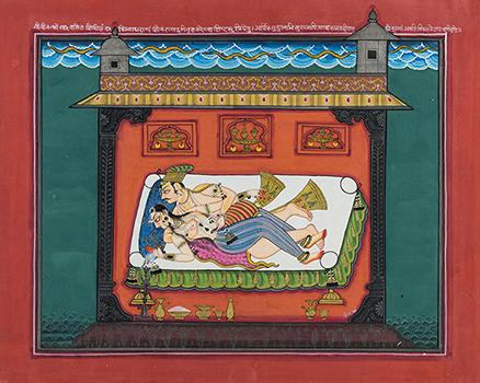 Folio from a Rasamanjari