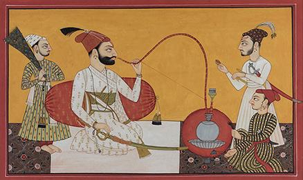 Portrait of Raja Kripal Pal
