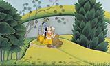 Vijay  Sharma-Folio from the Gita Govinda