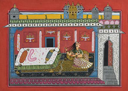 Folio from the Rasamanjari