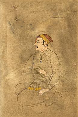 Seated Raja