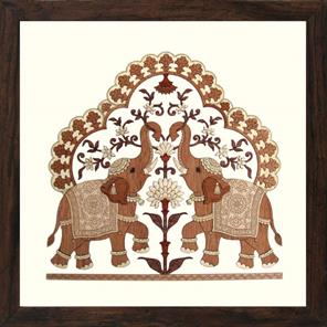 2 ELEPHANT TRUNK UP