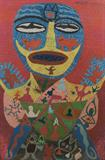 Guru - Madhvi  Parekh - REDiscovery: Auction of Art and Collectibles