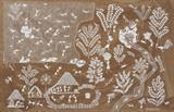 Untitled (Peacock Seed Sacks) (Warli Painting) - Jivya Soma Mashe - Modern and Contemporary South Asian Art and Collectibles