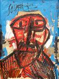 F N Souza-Untitled ( Head )
