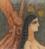 Untitled - Ganesh  Pyne - Winter Online Auction: Modern and Contemporary South Asian Art and Collectibles