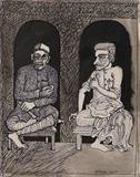 Friends in Need - Jogen  Chowdhury - Winter Live Auction: Modern Indian Art